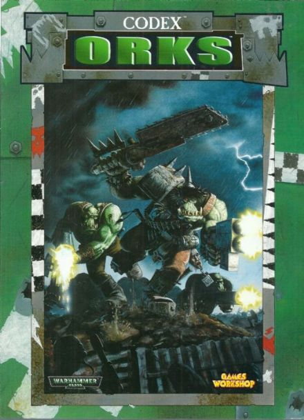 Space Orks Codex Rulebook 1999
